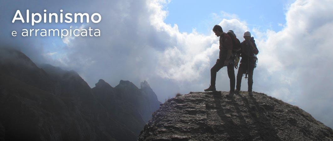 alpinismo e climbing