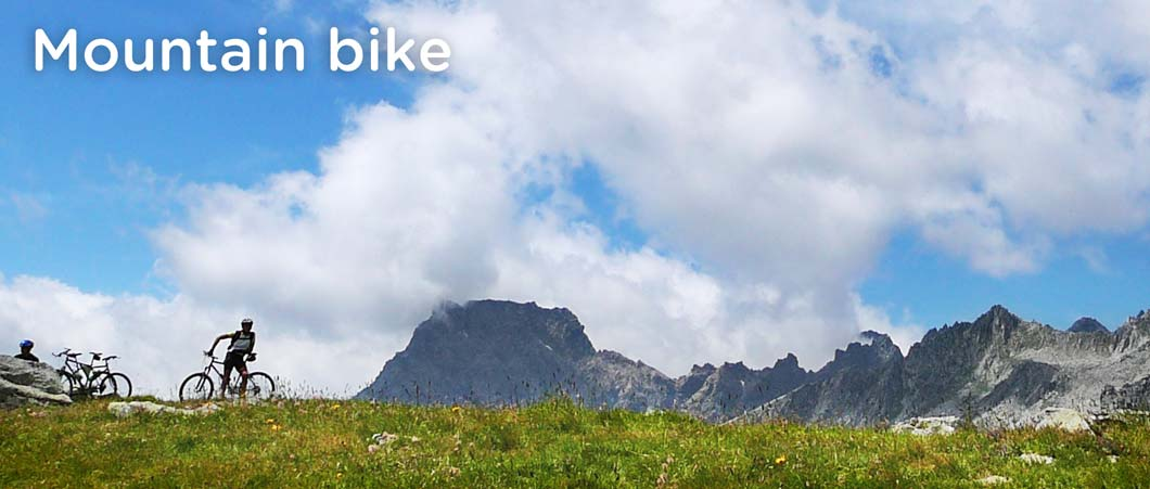 mountain bike in Ossola