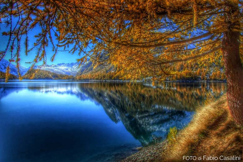 Lago-in-autunno-al-Devero